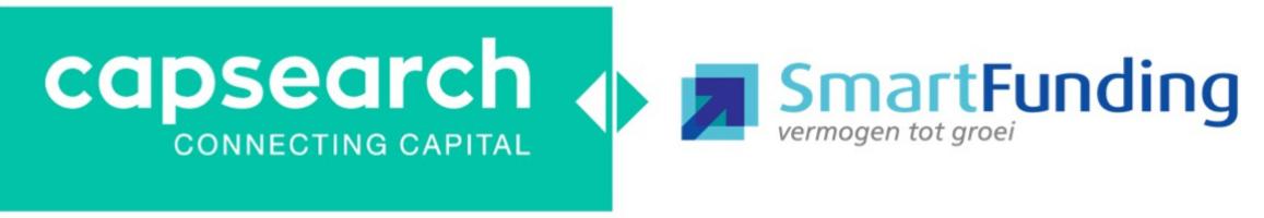 Samenwerking franchise-organisatie SmartFunding en Capsearch