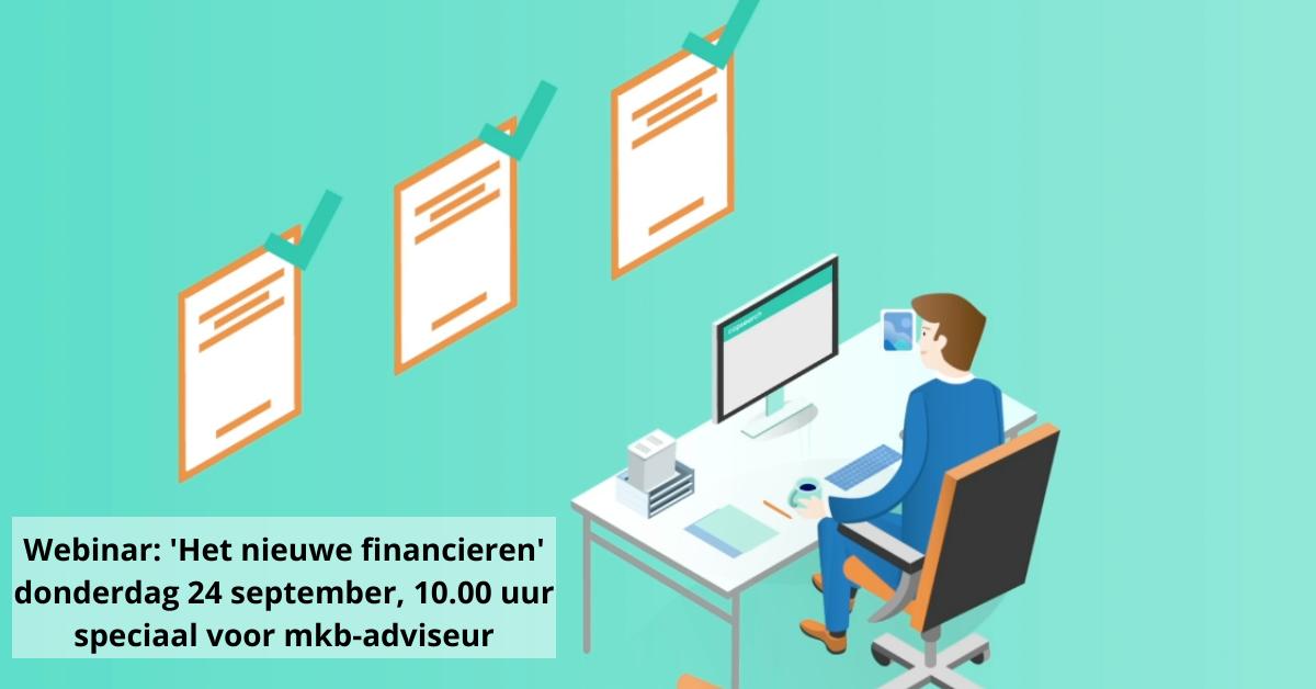 Webinar: Het nieuwe financieren | 24 september 2020