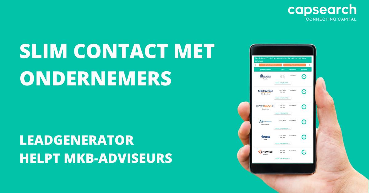Introductie: Leadgenerator voor mkb-adviseurs